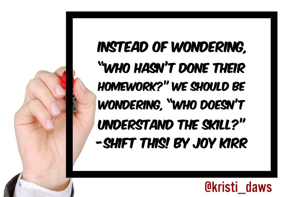 #tlap #DBCChallenge #ShiftThis @JoyKirr
