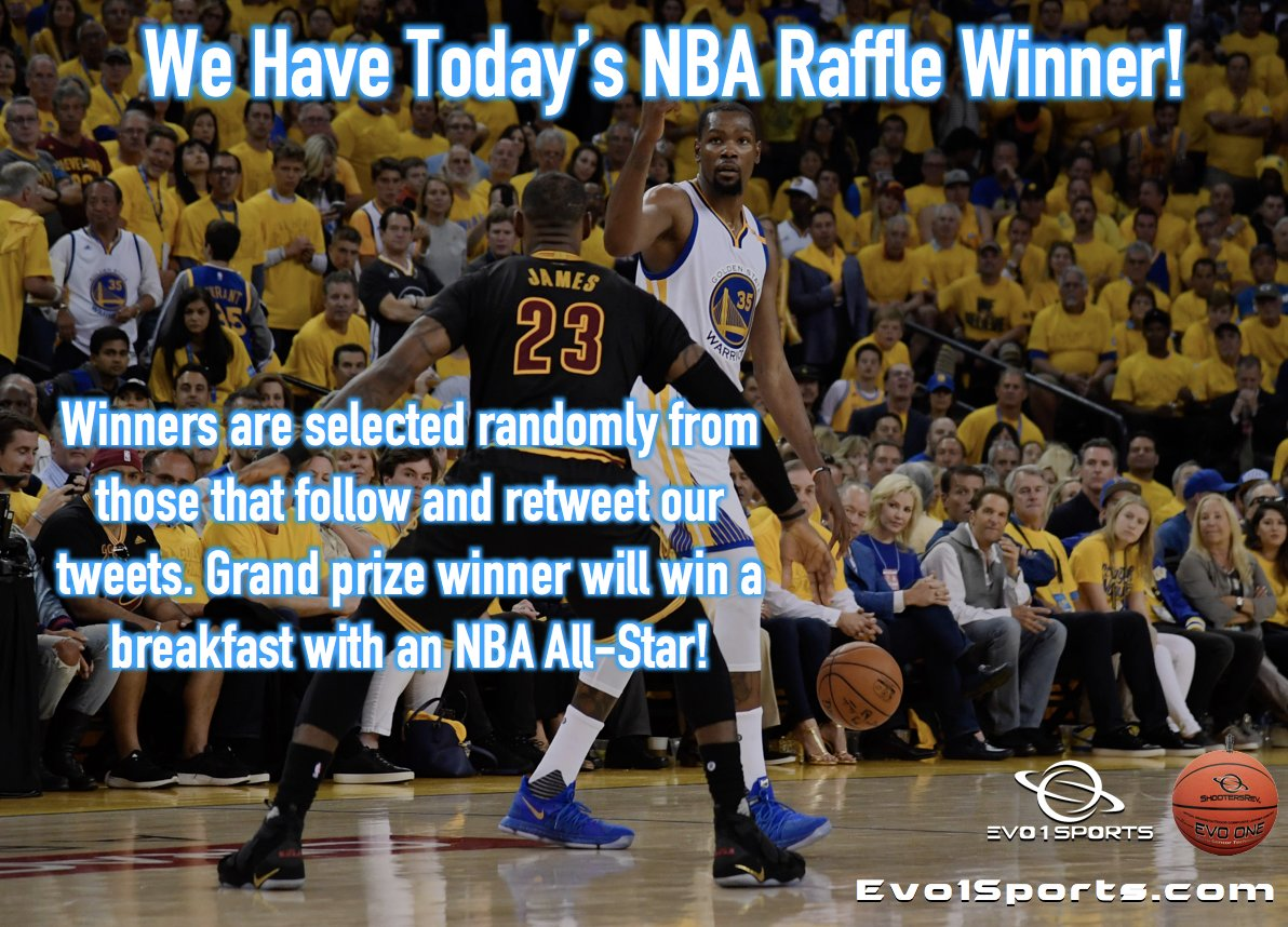 Today&#39;s WINNER is Alice L from Lansing,Michigan. Alice has been Following us for almost 7 months and is one of our big RT Followers. Enjoy your EVO ONE MICRO SENSOR BASKETBALL. Keep up the RT&#39;s (retweets) as you are still in the running for our GRAND PRIZE #NBA    #NBA  ALL STAR<br>http://pic.twitter.com/bhOYspBcSq