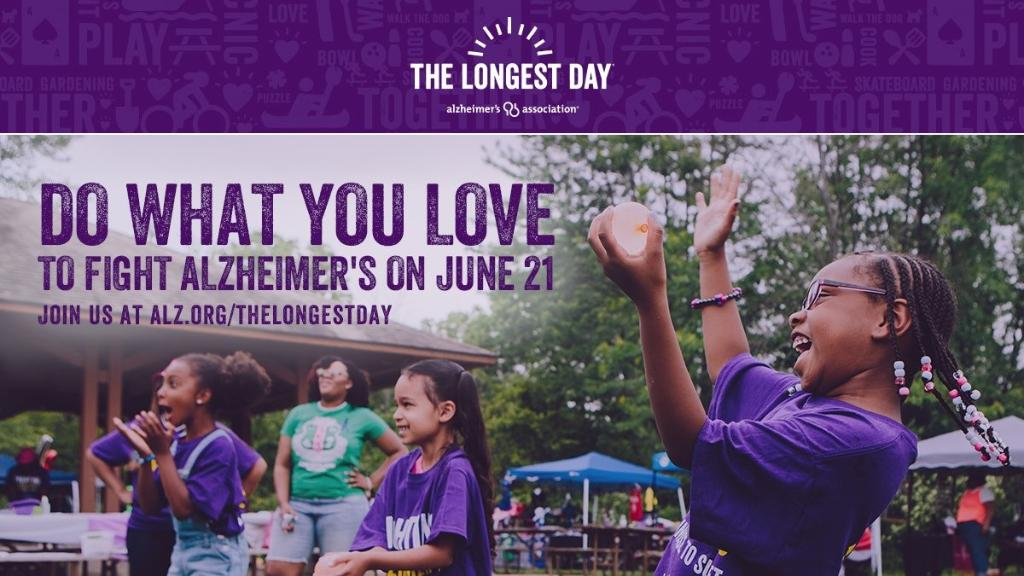 Tomorrow is the longest day of the year. While this is a cause for celebration for most of us, that may not be the case for people living with Alzheimer's. All of us should be able to enjoy #TheLongestDay—and we need a breakthrough to fulfill that goal: https://t.co/SSKNbDH0N7