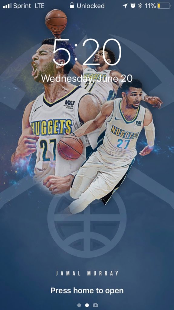 the latest 6d60e f0a8b Denver Nuggets on Twitter: