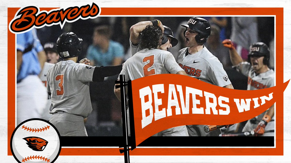 Oregon State Baseball's photo on Beavers