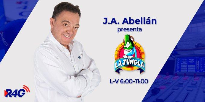 #FelizJueves Jungleros ¡Ya arranca @LaJungla4G con @jaabellan dando voces! ¿Qué mejor manera de empezar el día? 🌤 ¡Vamos! 🎬 Photo