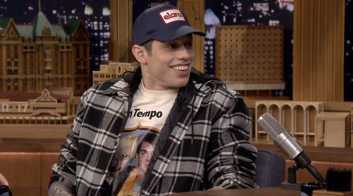 Tonight Pete Davidson confirms his engagement to Ariana Grande. Heres a sneak peek. Tune in to #FallonTonight for the full interview.