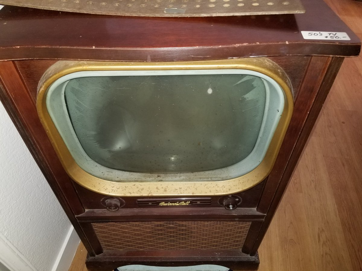 foone on twitter that s what i have this 50s packard bell tv for