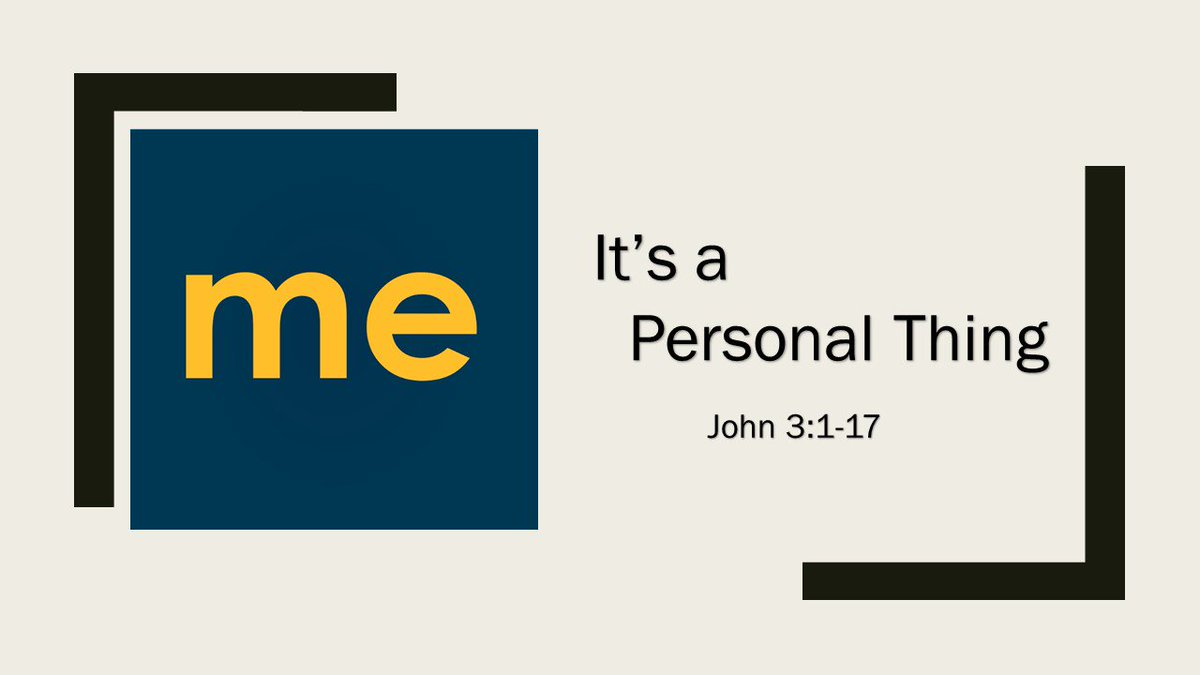 John 3:1-17.  Yes, my relationship with God is a personal thing. #itspersonal #relationship<br>http://pic.twitter.com/2ldgK0X1SS