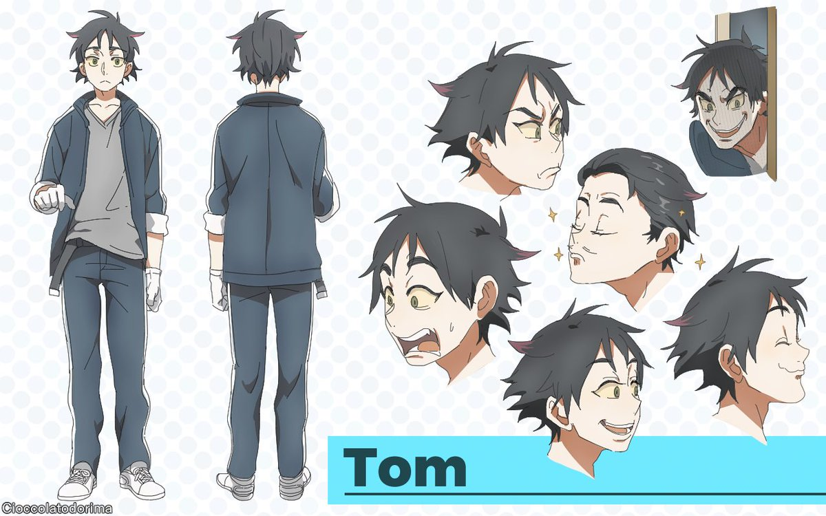 cioccolatodorima on twitter i tried to draw tom and jerry as anime