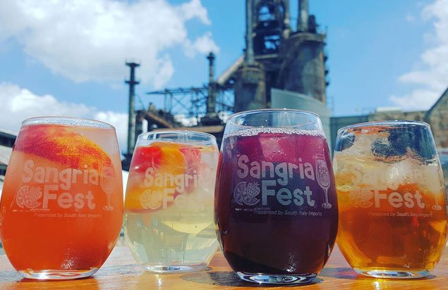 """This year's SangriaFest will feature new crowd pleasers like """"Sucker Punch""""- with Primitivo red wine with lime juice, rum and fruit– and """"Zen,"""" featuring Chardonnay white wine with peaches, apricots, pomegranate juice and brandy. Info: buff.ly/2HiAkgv"""