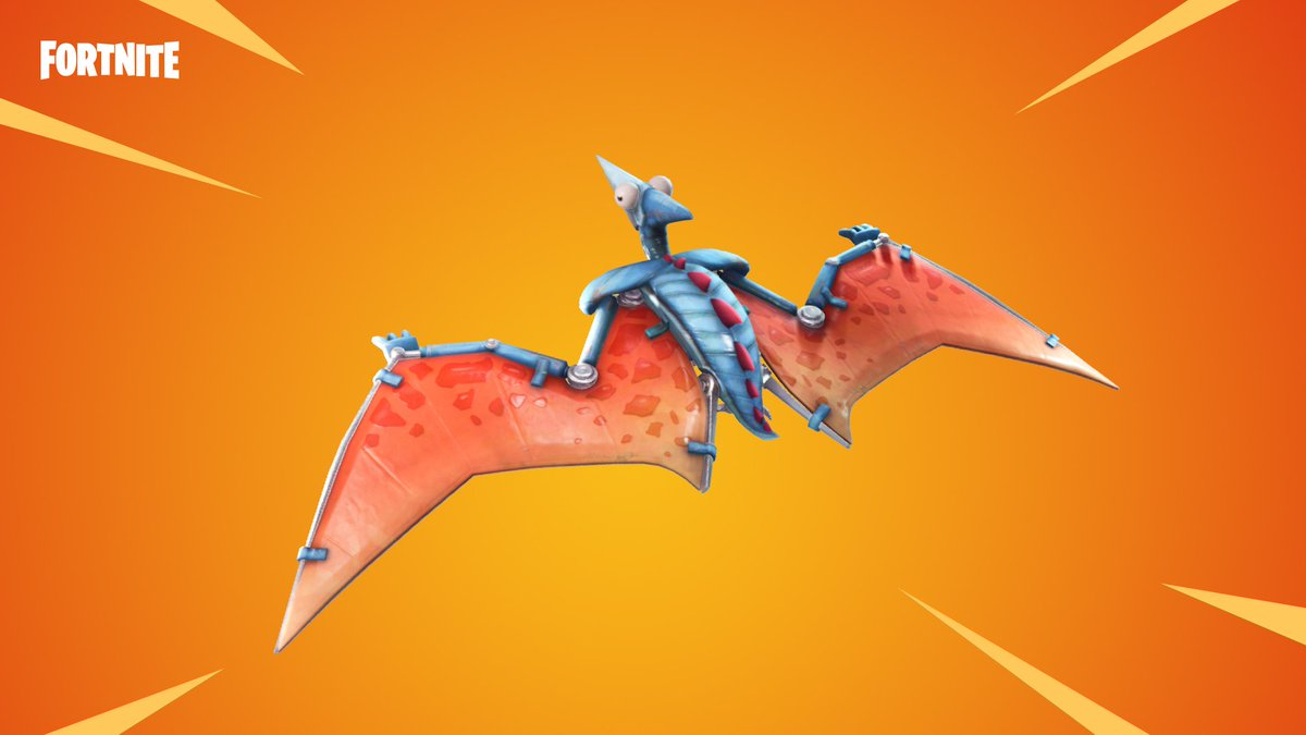 Saur into battle with the new Pterodactyl Glider and Dino Guard Gear. Available now!