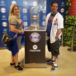 @Cubs FINALLY got my picture #ThatsCub #CubsTalk #EveryBodyIn #IamCubsessed #Cubs #WorldSeriesChampions