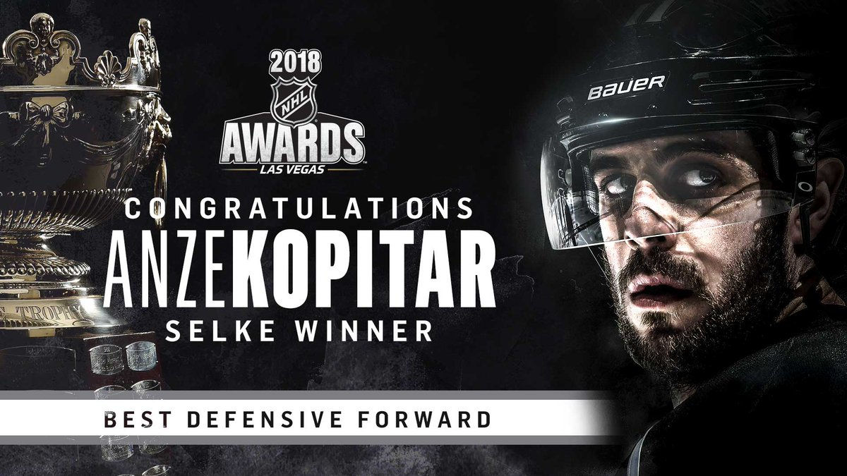 LA Kings's photo on Selke
