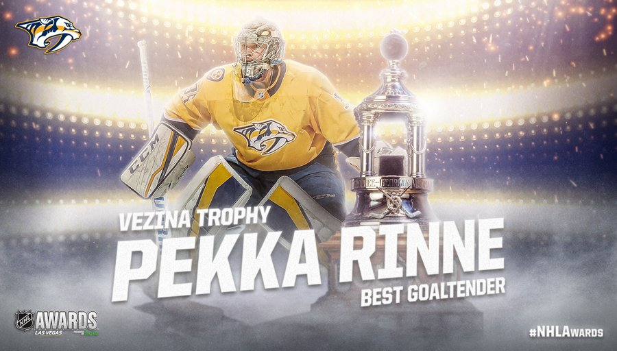 NHL's photo on Pekka Rinne