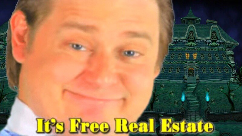 Mysterious Letter: hey you won this mansion in a contest you entered also we're about to disembowl your brother and you're probably next Luigi: