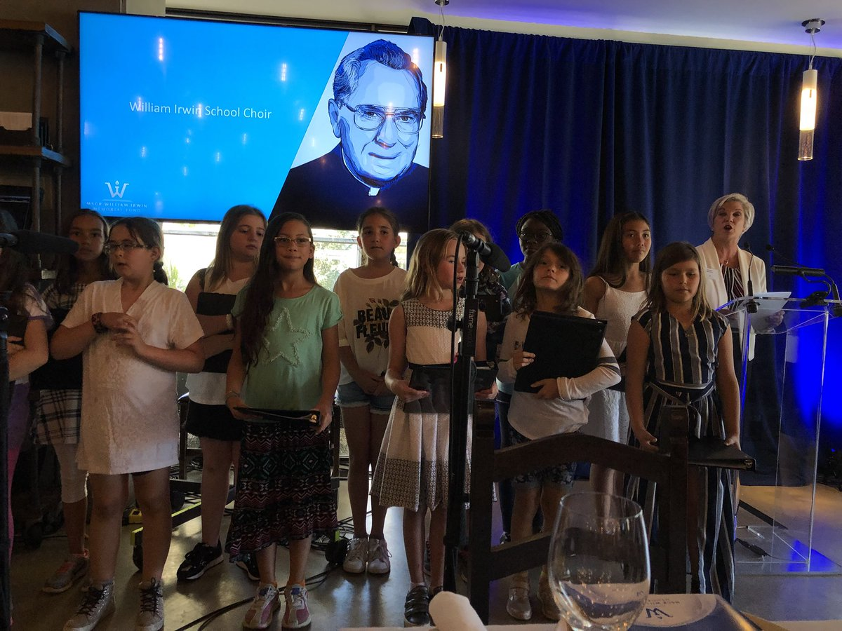 So great to have the angelic young choral voices of @MWISchool Monsignor Irwin School lead us in song at the @cssalberta annual Bill Irwin Memorial Luncheon today #ECSDfaithinspires <br>http://pic.twitter.com/ghA96GMsQO