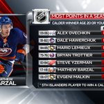 Mathew Barzal Twitter Photo