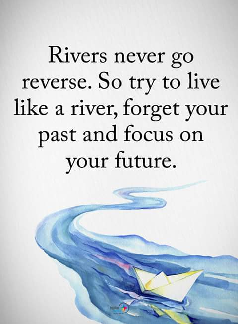 inspirational quotes on rivers never go reverse so try