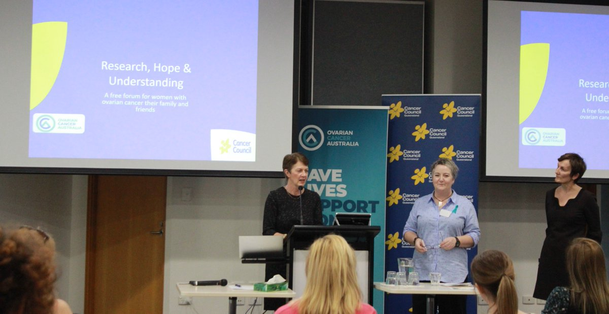Cancer Council Queensland On Twitter Today We Hosted A Free Forum For Women With Ovariancancer And Their Family And Friends In Our Brisbane Office In Partnership With Ovarian Cancer Australia If You Ve