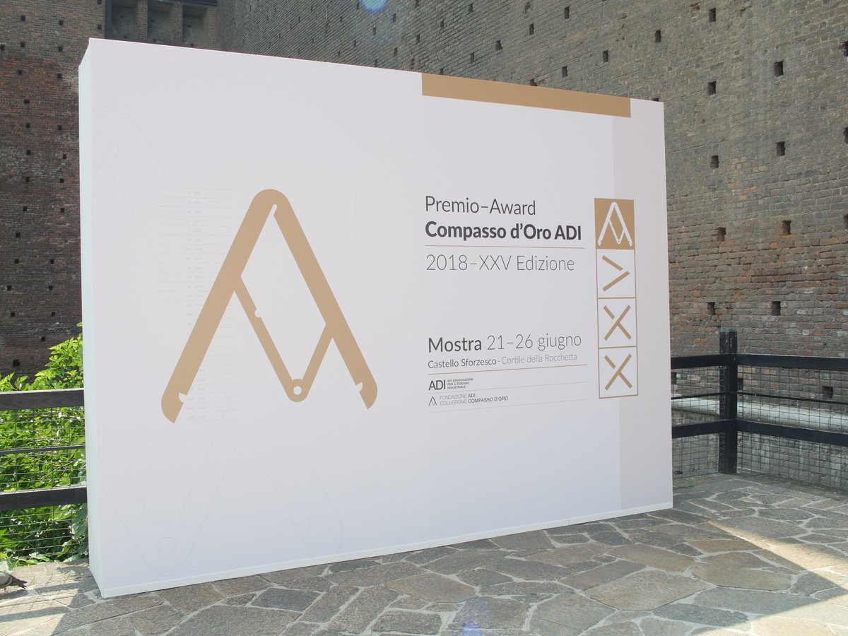 .@AdolfoGuzzini , President of @iGuzzini was awarded the @compassodoro Career Award, with which @ADIassodesign reward professional figures which, with their activities, contribute significantly to the enhancement of the Italian #design culture worldwide. Proud of you, dad.<br>http://pic.twitter.com/f9Kn1OATwS