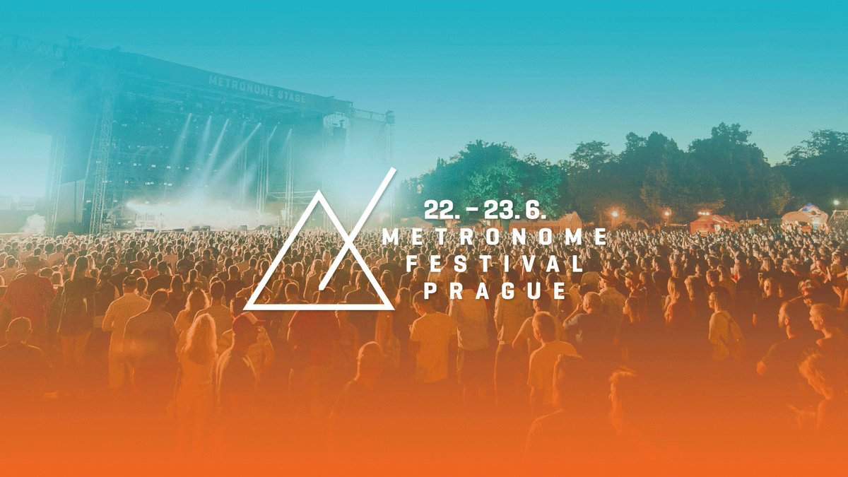 🎸Hey, festival-goers! Metronome Festival D-1 !  🎸 This year we joined forces with @metronomeprague to provide you the ultimate Prague experience ! Be sure to have your ticket and see you tomorrow #MetronomeFestival #Prague #Festival #Party #MusicBand #Concert #FamousHostels https://t.co/y2A2luYzY0