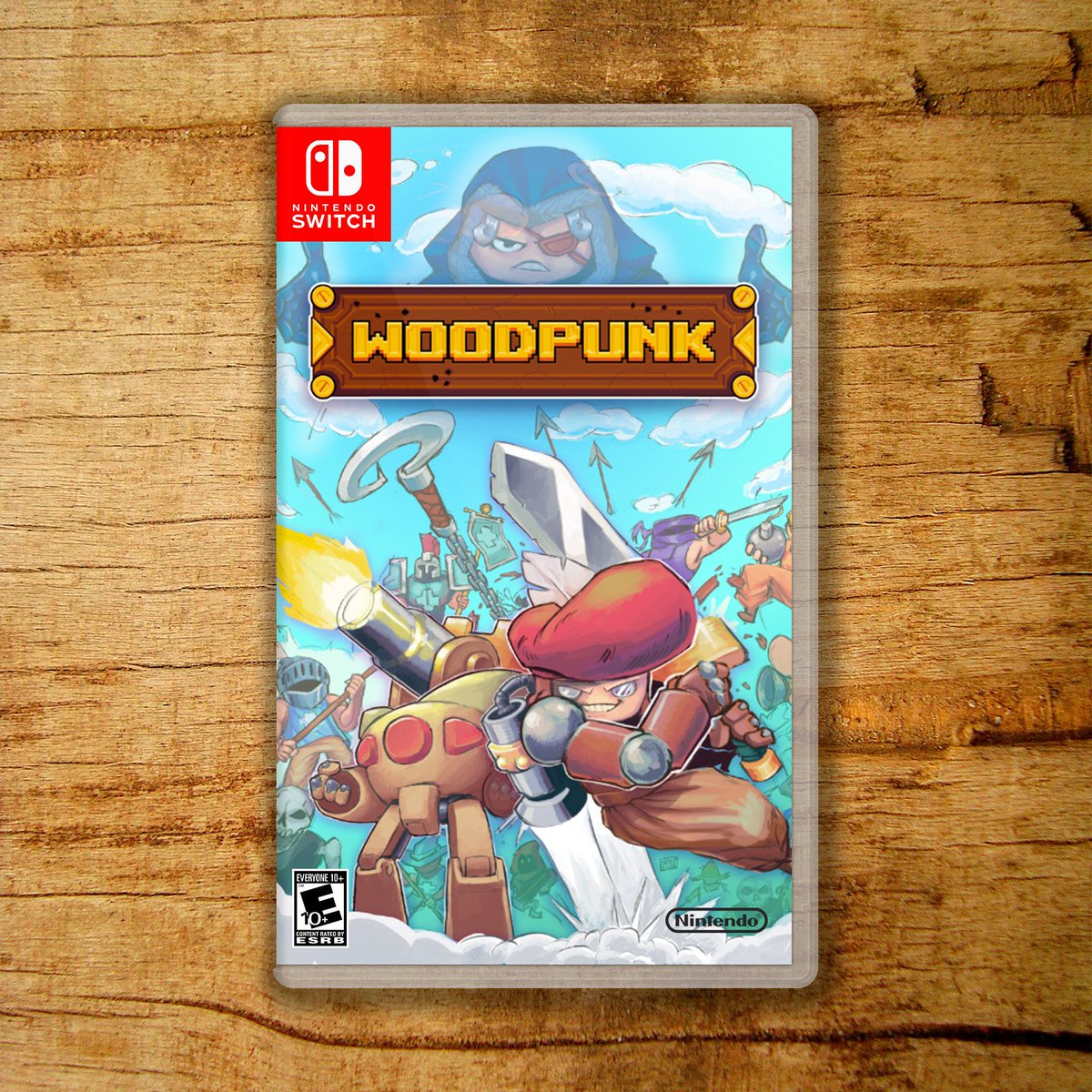 That&#39;s how #woodpunk for #NintendoSwitch would look like. Just a #concept? Stay tuned ;)  #indiedev #indiegame #gamedev #IndieGameDev #gaming #gameart #videogames #videojuegos #indiegames #gamersunite #RETROGAMING #pixelart #WorldMusicDay #FelizJueves <br>http://pic.twitter.com/FsxIHPchgD