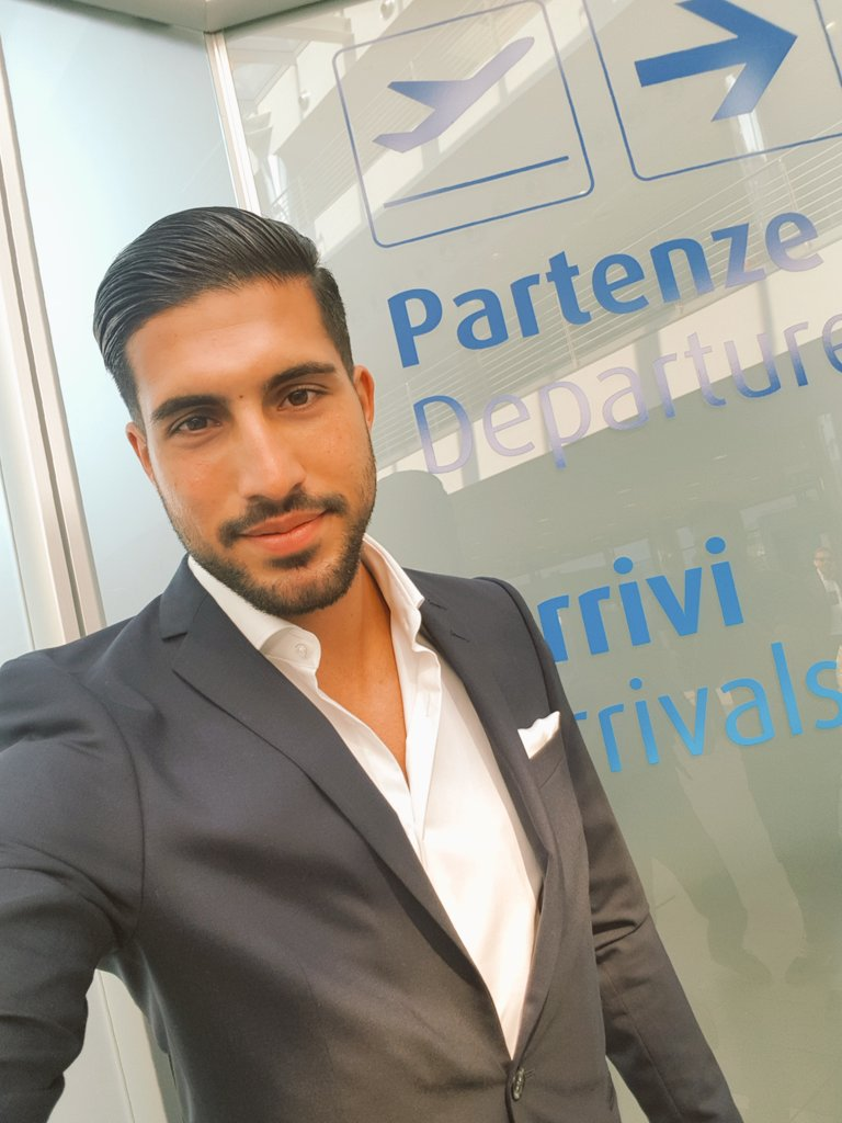 Emre Can has landed in Turin! 🛬👋