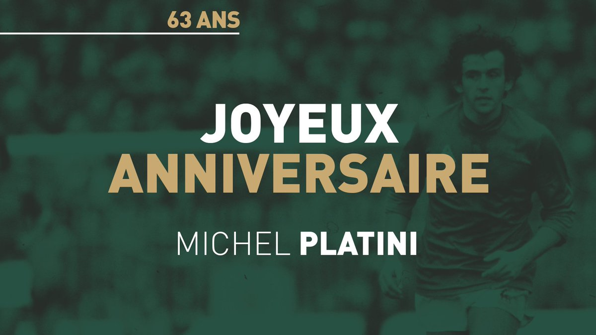 As Saint Etienne On Twitter Joyeux Anniversaire Platoche
