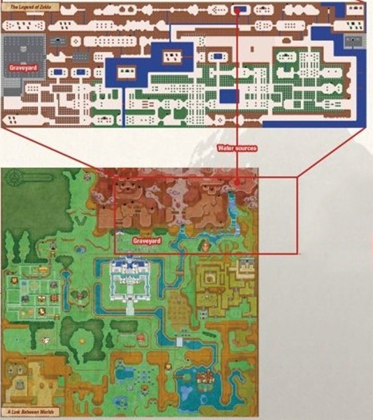 Zelda Encyclopedia confirms that the entirety of Zelda 1