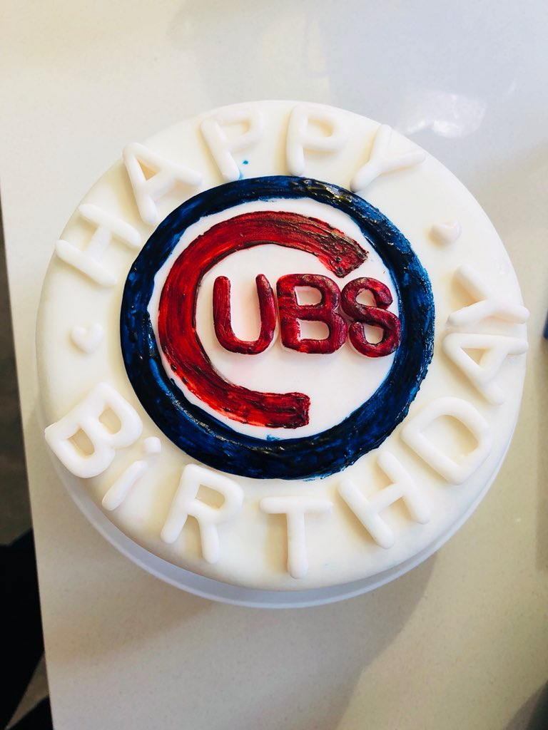 Chicago Cubs On Twitter Happy Birthday Love The Cake