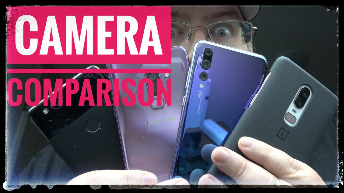 Camera Comparison!  OnePlus 6  Huawei P20 Pro  Samsung Galaxy S9+  Google Pixel 2 [WATCH]   https:// youtu.be/MUxA48aHD24  &nbsp;   . #OnePlus6 #HuaweiP20Pro #P20Pro #GalaxyS9Plus #Pixel2 #Samsung #Google #YouTube #smallyoutuber<br>http://pic.twitter.com/5MeTHBklrO