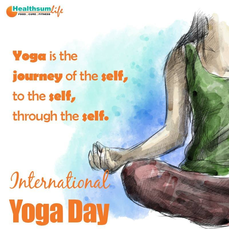 &#39;You cannot Always Control what goes on Outside, But you can Always Control what goes on inside…' Best Wishes for International Yoga Day from team Healthsum Life #InternationalYogaDay2018 #YogaDay #InternationalYogaDay #Fitness #Health #HealthsumLife #HealthApp #FitnessApp #Diet<br>http://pic.twitter.com/kd1FPYE7Wq