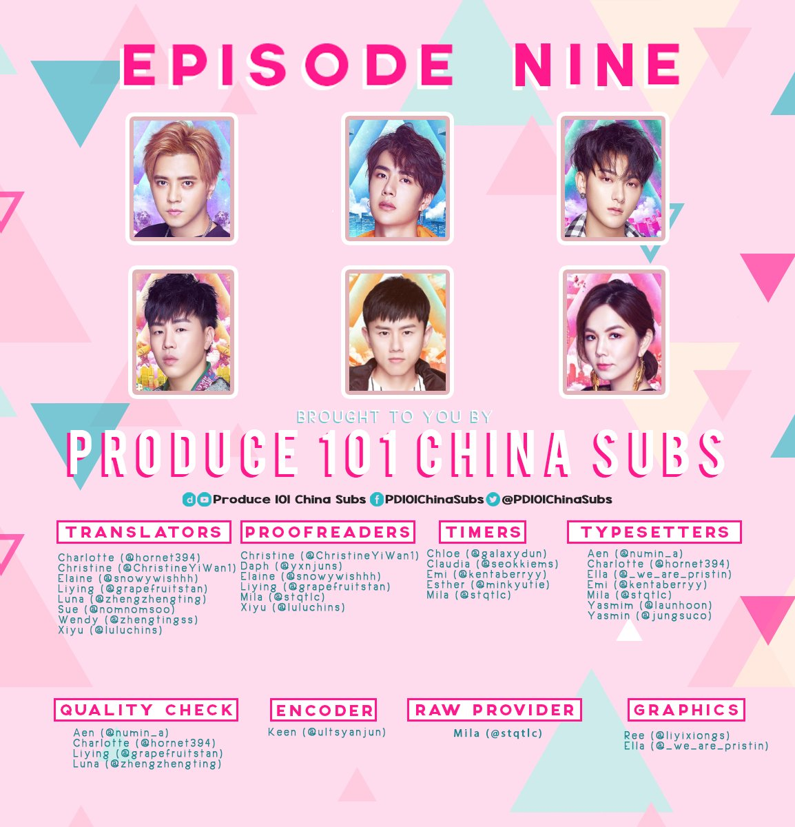 Produce 101 China Subs (@PD101ChinaSubs) | Twitter