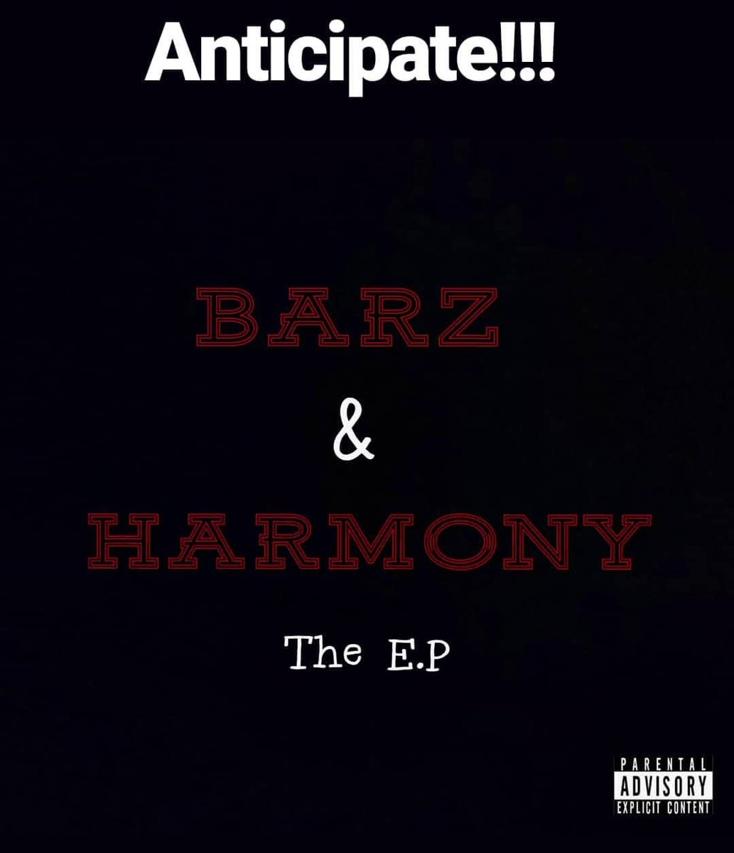 The E.P is almost ready...it&#39;s gonna be fire i promise #BarzAndHarmony  #artwork #albumcover #soundcloud #linkinbio #EP #albumart #Rapper #Singer #Producer #rap #harmony #music #Entrepreneur #Entertainer #hiphop #afrobeats #afrohiphop #trap #blues #dancehall #afrodancehall<br>http://pic.twitter.com/DHkrvOvzpf