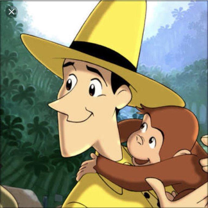 息子めちゃくちゃ可愛いけど恋人と思ったことはないな。ジョージって感じ。だからいつもおさるのジョージを観てる時は黄色い帽子のおじさんの気持ちである。