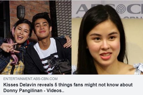 We know that Donny is a talented musician but according to Kisses, theres still an instrument that he wants to learn how to play. Lets watch her share more interesting facts about Donny HERE: bit.ly/2JTmZwl