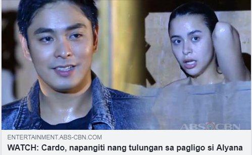 Cardo: Nakita ko naman... Alamin kung bakit siya napangiti sa #FPJAPBabantayan! bit.ly/2JWOMvU