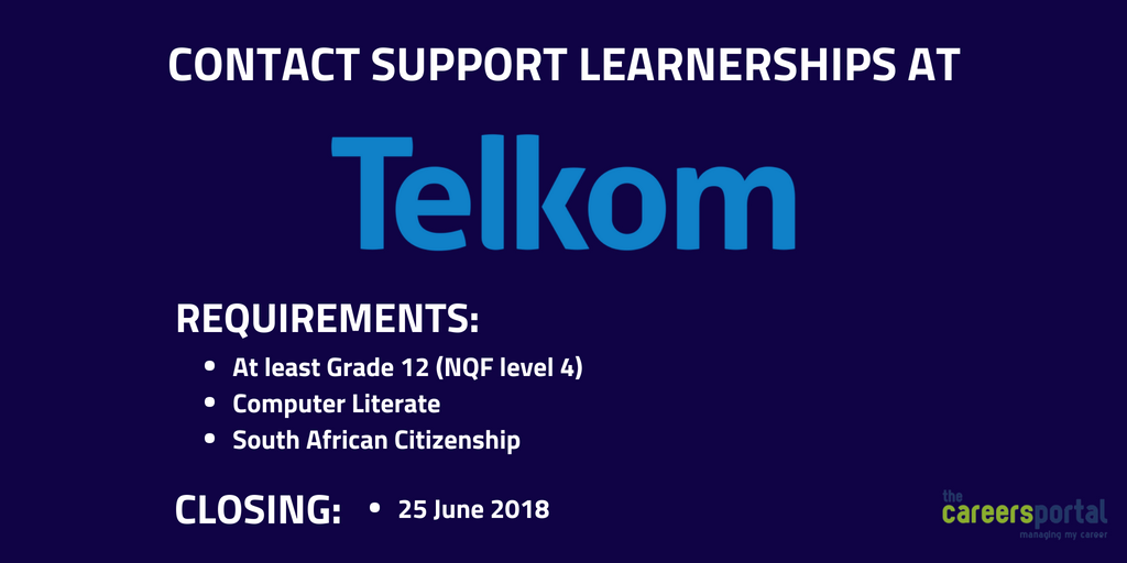 Image result for Telkom: Learnership