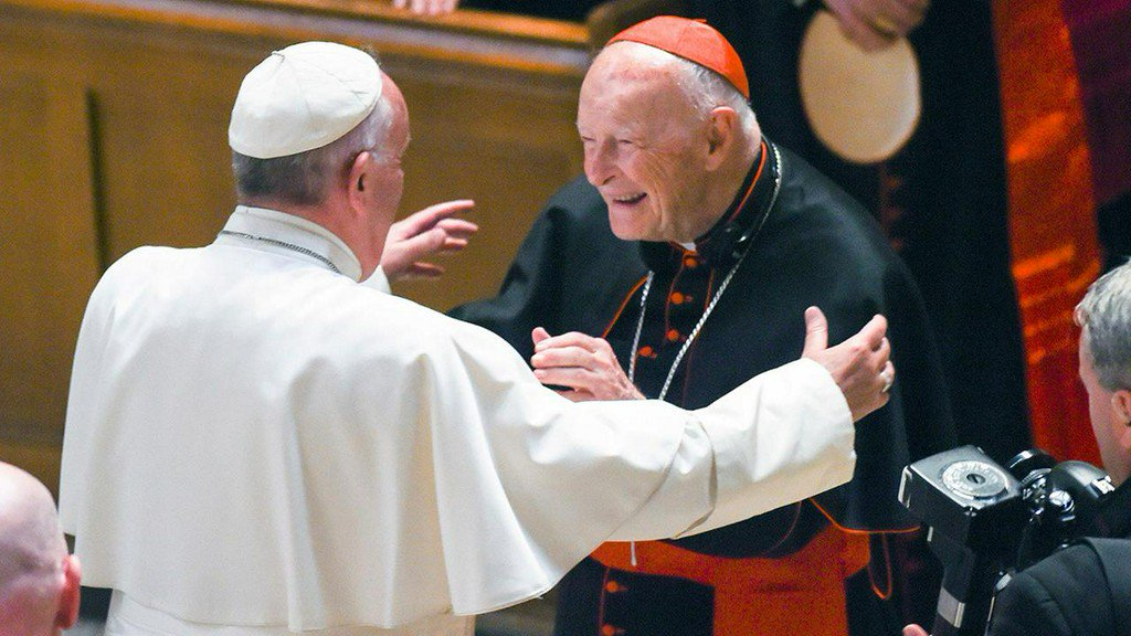 Cardinal McCarrick, ex-archbishop, accused of sex abuse in NY https://t.co/TRQp4MGw5u