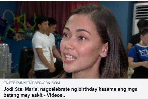 Jodi: We started parang collaborating project... Panoorin ang kanyang birthday celebration at alamin ang estado nang kanilang relasyon ni Jolo DITO: bit.ly/2KaETdA