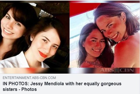 Check out Jessys close bond with her sisters that are definitely beautiful like her! See their bonding moments HERE: bit.ly/2tphkTO