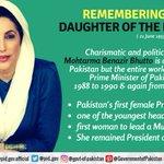 benazir bhutto Twitter Photo