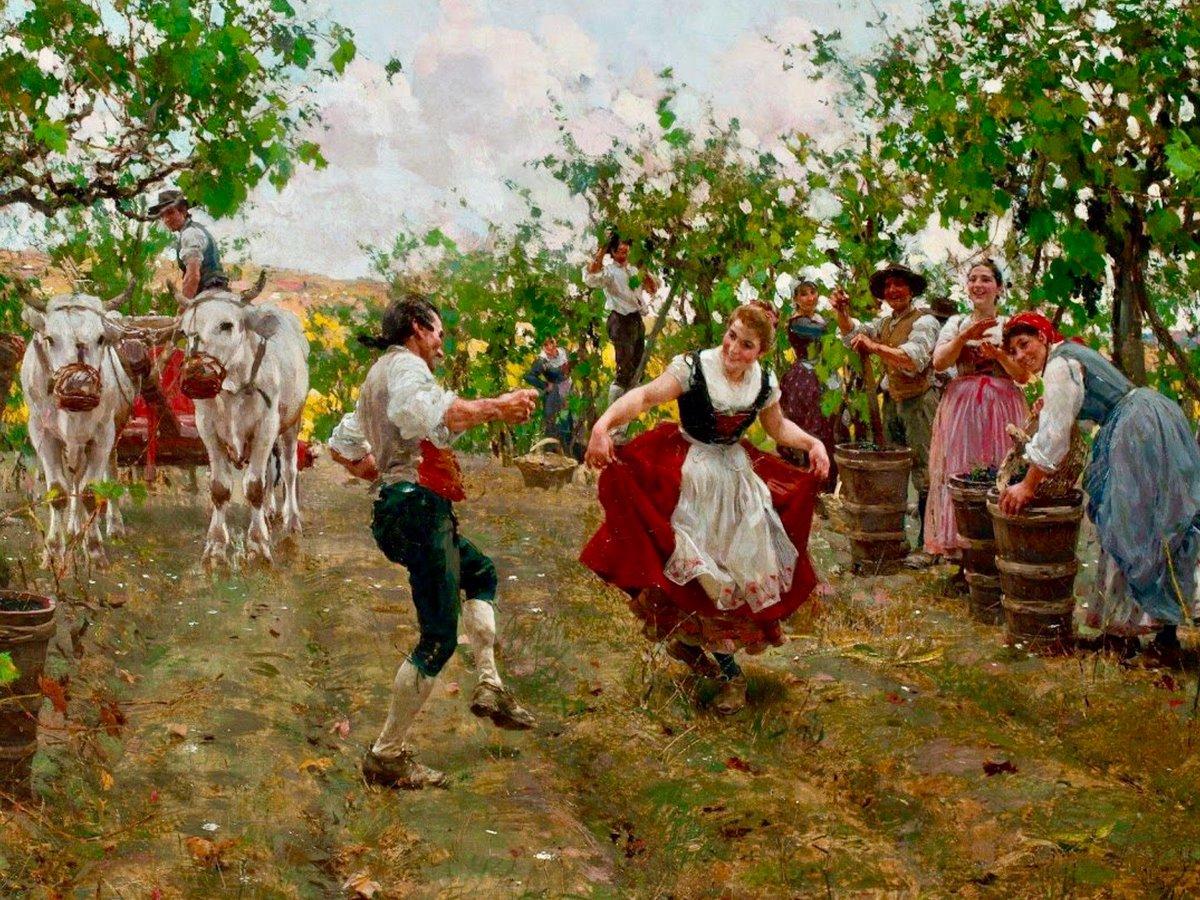 The Harvest Dance by Raffaello