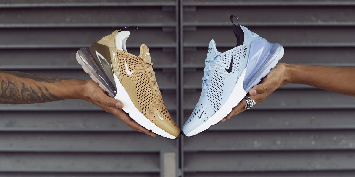 Nike's Air Max 270 Returns in Elemental Gold