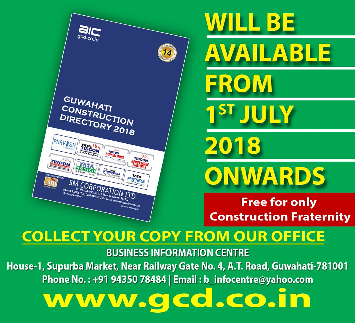 Guwahati Construction Directory by BIC on Twitter: