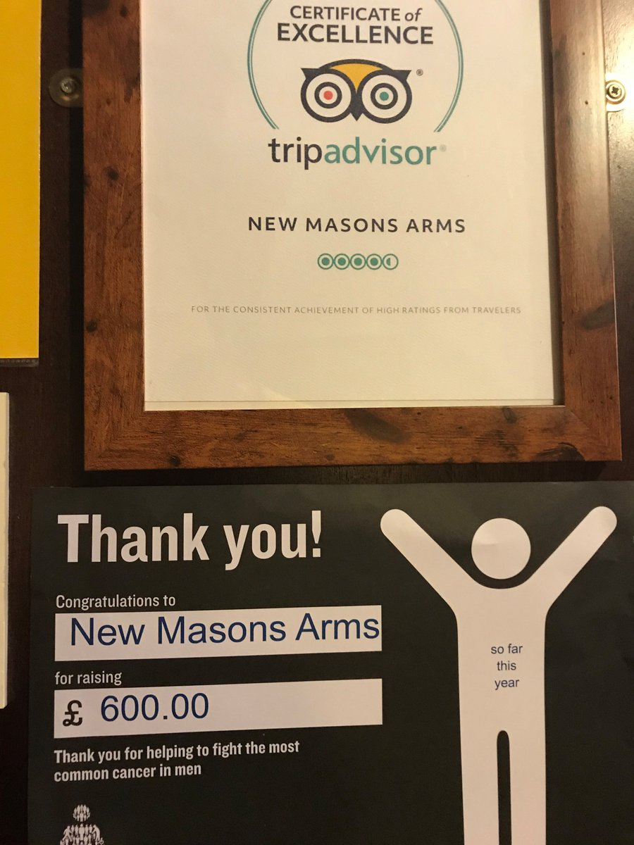 """I decided to support Prostate Cancer UK because I had prostate cancer myself & so I wanted to give back. Congratulations John Hemmingway of The New Masons Arms, Leeds for being named our June Landlord of the Month! Find out more 👇 prostatecanceruk.org/landlordofthem…"