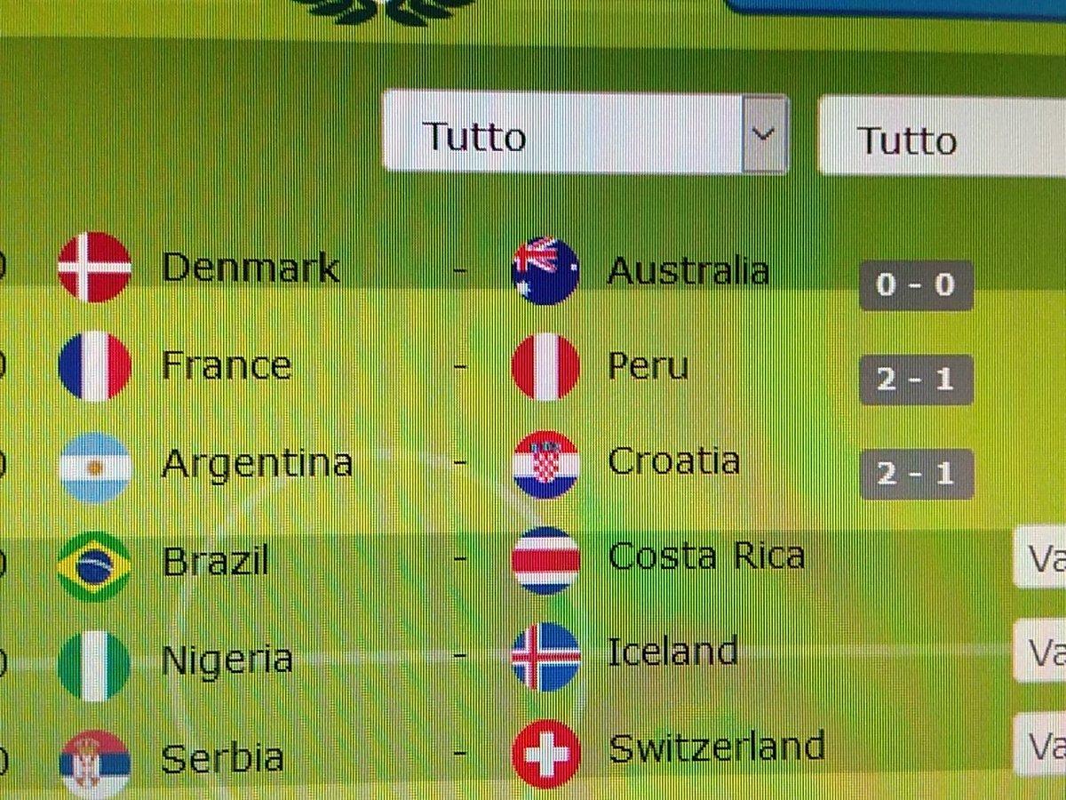 Oggi le sbaglio tutte, sono fuori forma come big... #pronostici #Mondiali2018  - Ukustom