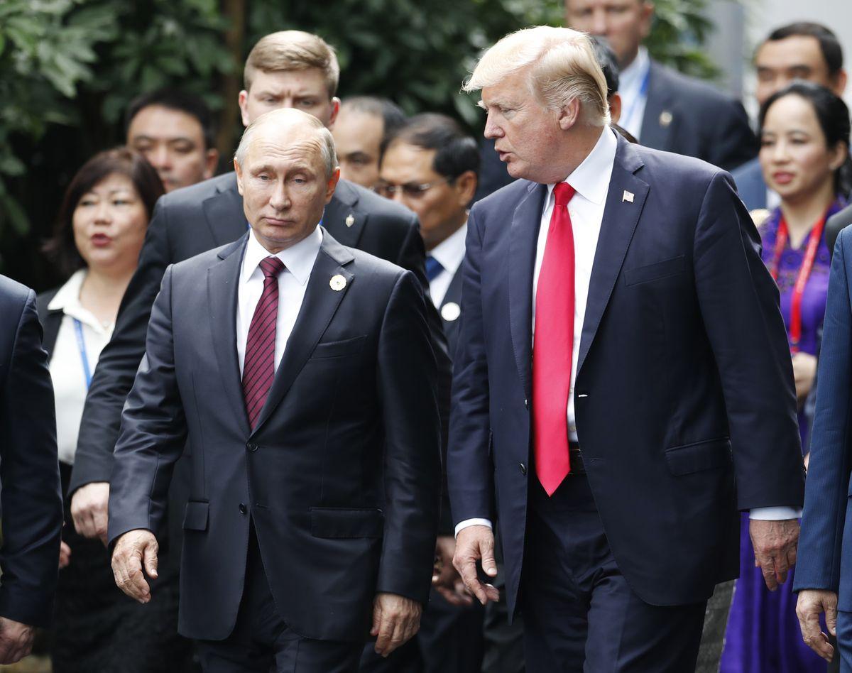 Donald Trump is planning to meet Vladimir Putin next month https://t.co/HXh3TNCyAU