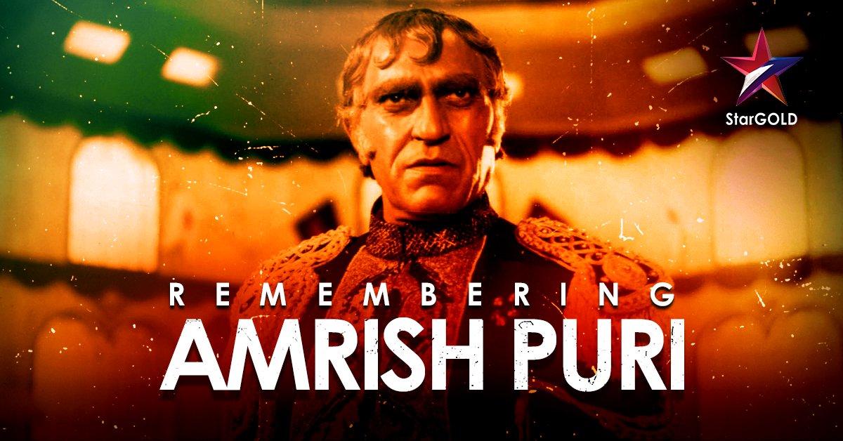Remembering the legacy of the legendary 'Mogambo' of Indian cinema on his birthday! #HappyBirthdayAmrishPuri #AmrishPuri