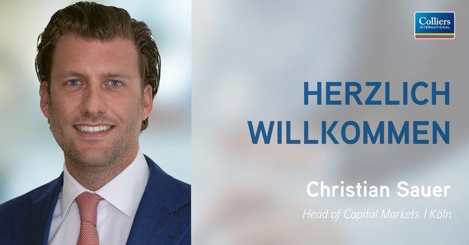 Christian Sauer wird ab Anfang September als Managing Director in der Funktion des Head of Capital Markets #Köln tätig sein. Zusätzlich übernimmt er die Aufgabe des Co-Head of Capital Markets in der Region Nordrhein-Westfalen:  t.co/lX2yKcsN4x