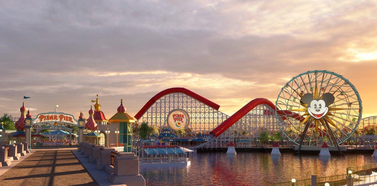 6月23日に、いよいよ「ピクサー・ピア」オープン!  世界中で愛されるディズニー/ピクサー映画にインスパイアされたパークは見所が盛りだくさん♪https://t.co/oi0PWs8cWi   #カリフォルニアディズニー #ピクサーピア