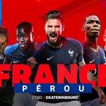 Image for the Tweet beginning: Deuxième match à 17h00 pour