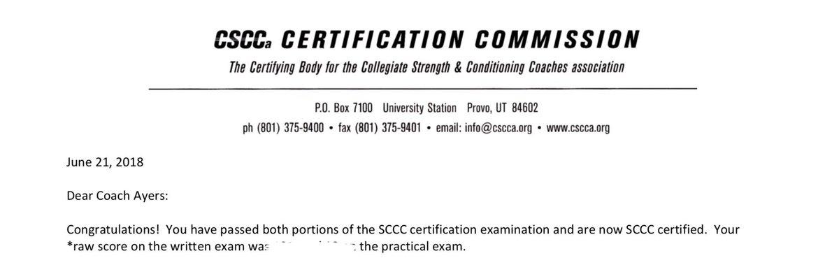 Tyler Ayers, SCCC, CSCS, USAW-1 (@CoachAyers_CSCS) | Twitter